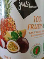 100% fruits bio - Produit - fr