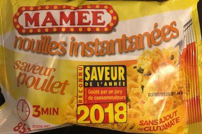 Nouilles orientales arôme Poulet - 85 g - Mamee - Prodotto - fr