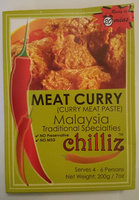 Chilliz Meat Curry Curry Meat Paste - Product - en