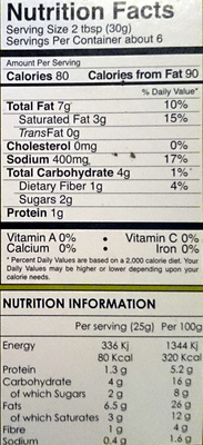 Chilliz Meat Curry Curry Meat Paste - Nutrition facts - en