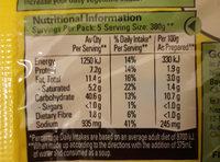 2 minute noodles chicken flavour - Nutrition facts - en