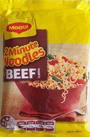2 Minute Noodles (Beef Flavour) - Product - en
