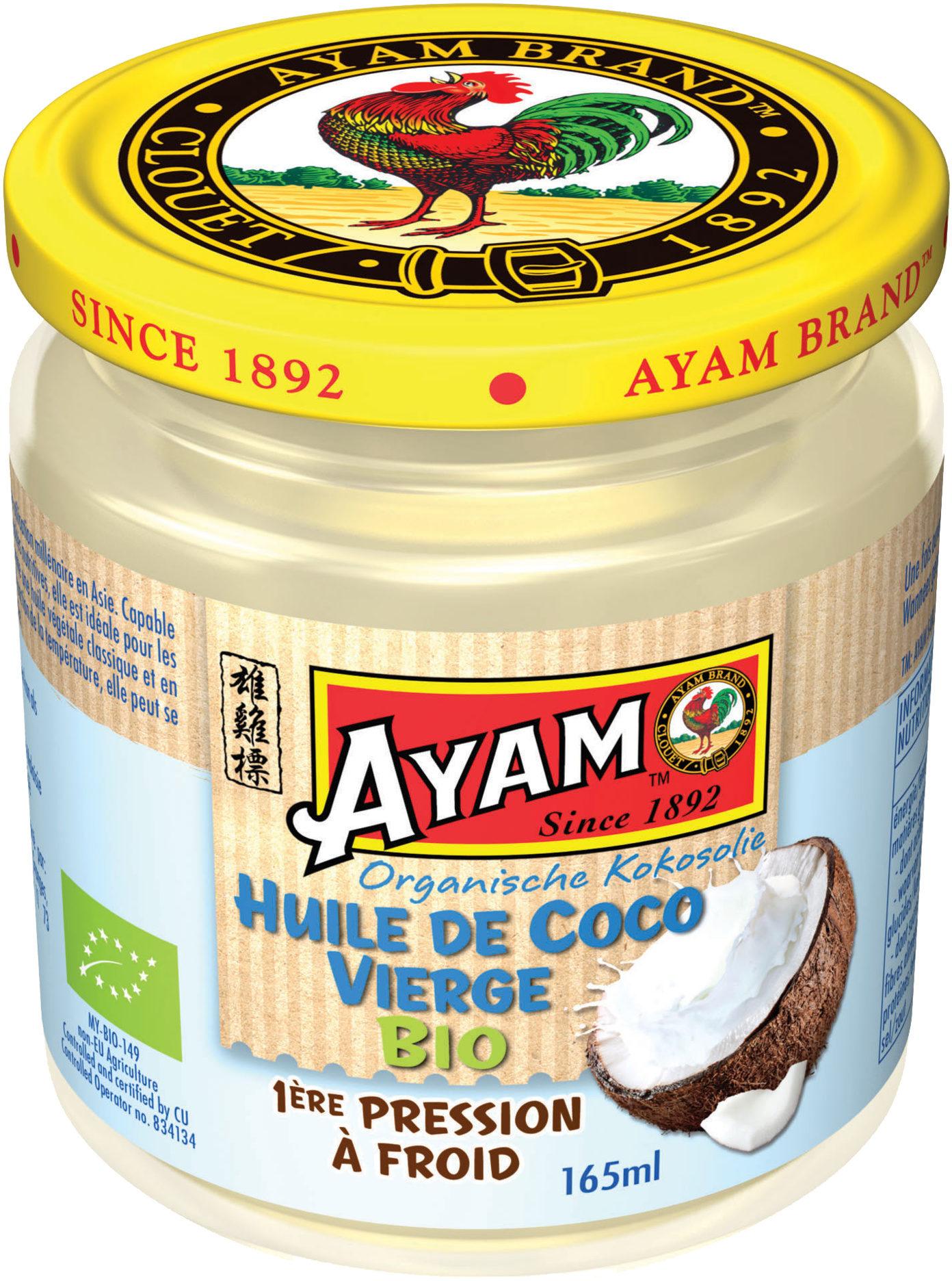 Huile de coco vierge bio Ayam™ - Product