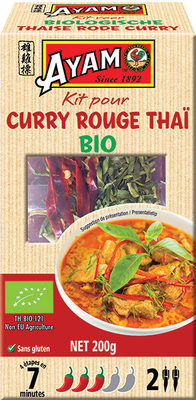 Kit pour curry rouge Thai Ayam™ - Product