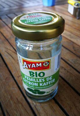 Feuilles de citron kaffir - Produit - fr