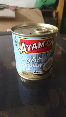 light coconut milk - Product - en