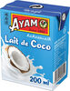 Lait de Coco 200 ml AYAM - Product