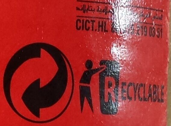 Sauce Piment Sriracha - Recycling instructions and/or packaging information - fr