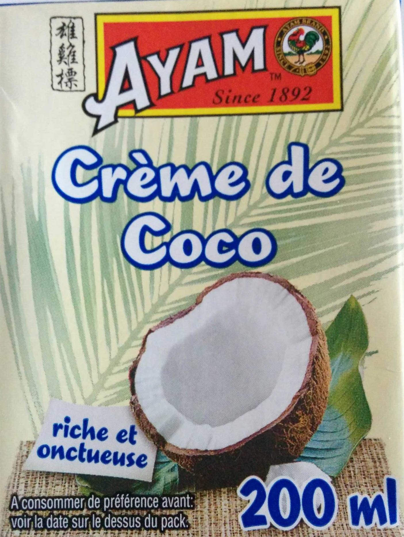Crème de Coco - Ayam - 200 ml