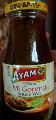 calorie Mi Goreng Sauce Wok