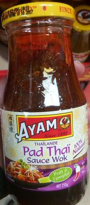 calorie Pad Thaï Sauce Wok
