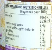 Sauce Wok Pad Thaï Ayam™ - Informations nutritionnelles - fr