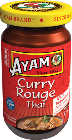 Pâte de curry rouge - Product - fr