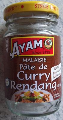 calorie Pâte de Curry Rendang