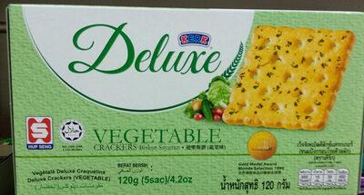 แครกเกอร์โรยผัก - Produit