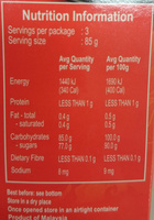 Jeenys Palm Sugar - Nutrition facts - en