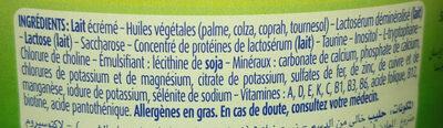 Blédilait - Ingrédients - fr