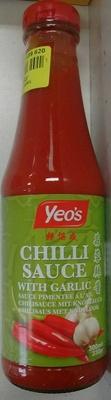 Sauce pimentée à l'ail - Product