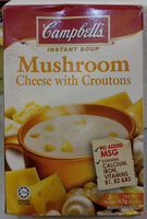 Mushroom, cheese and croutons cream soup - Prodotto - en