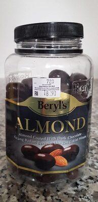 Almond Coated with Dark Chocolate - Sản phẩm - vi