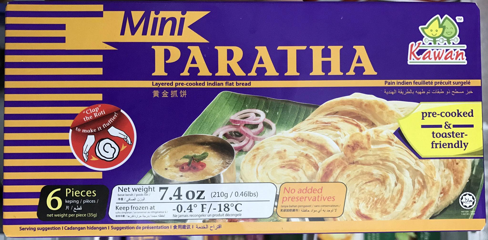 Mini Paratha - Produit