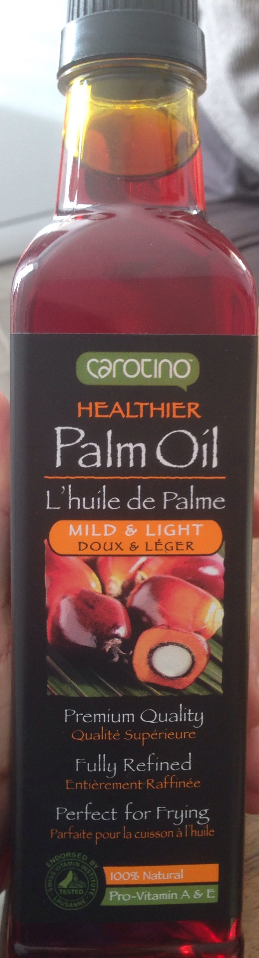healtier palm oil l 39 huile de palme carotino 500 ml. Black Bedroom Furniture Sets. Home Design Ideas
