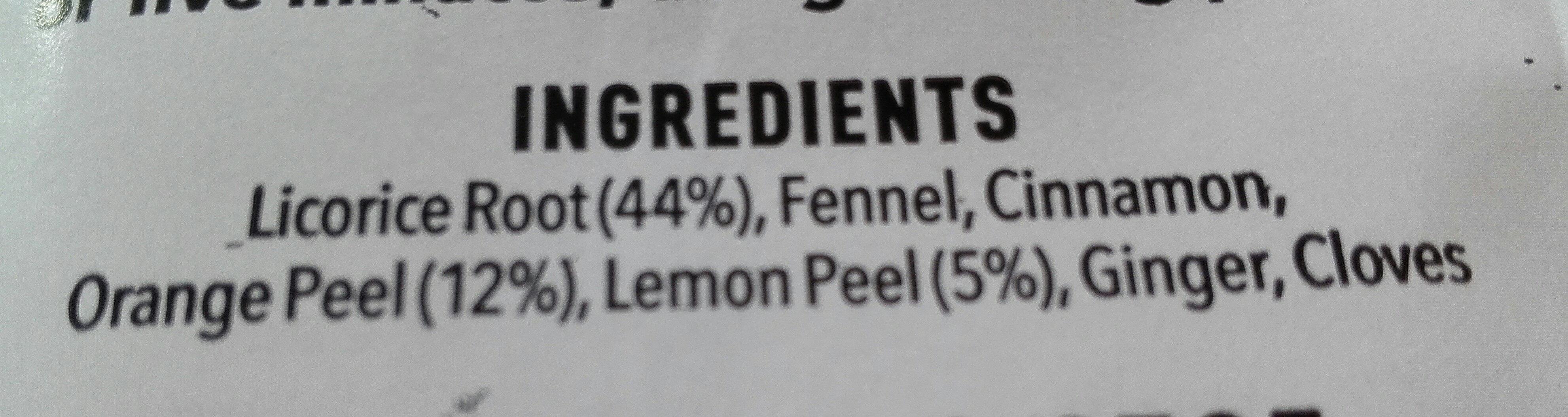 licorice - Ingredients - en