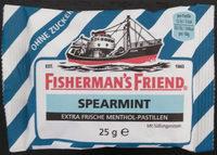 Extra frische Menthol-Pastillen, Spearmint - Product - en