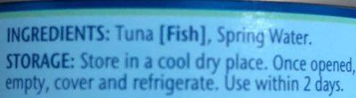 Tuna chunks - Ingrediënten