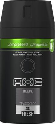 AXE Déodorant Homme Bodyspray Compressé Black 48h Non-Stop Frais - Product - fr