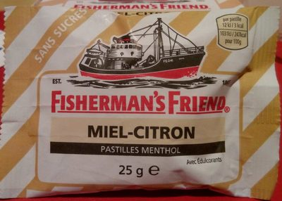 calorie Fisherman's Friend Miel
