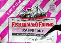 Fisherman's Friend Raspberry Ohne Zucker - Produit - de