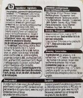 Dos de cabillaud pané - Informations nutritionnelles - fr