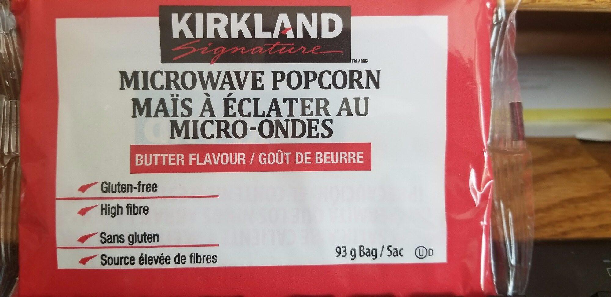 Kirkland Microwave Popcorn 93 G