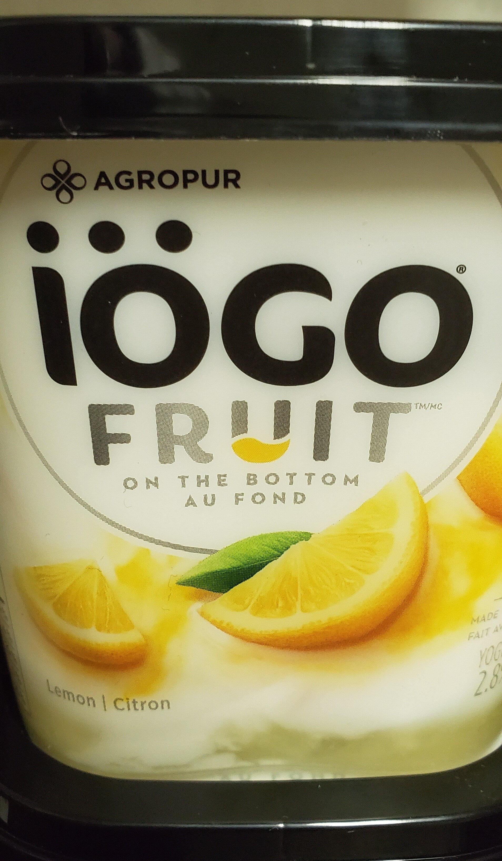 Iogo fruit lemon - Product - en