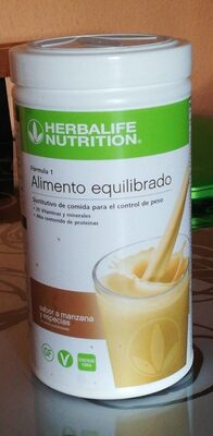 Formula 1 alimento equilibrado manzana y especias - Product - it