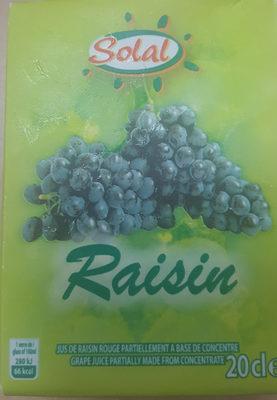 jus de raisin - Produit - fr
