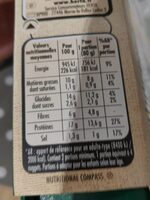Nuggets soja et blé - Nutrition facts