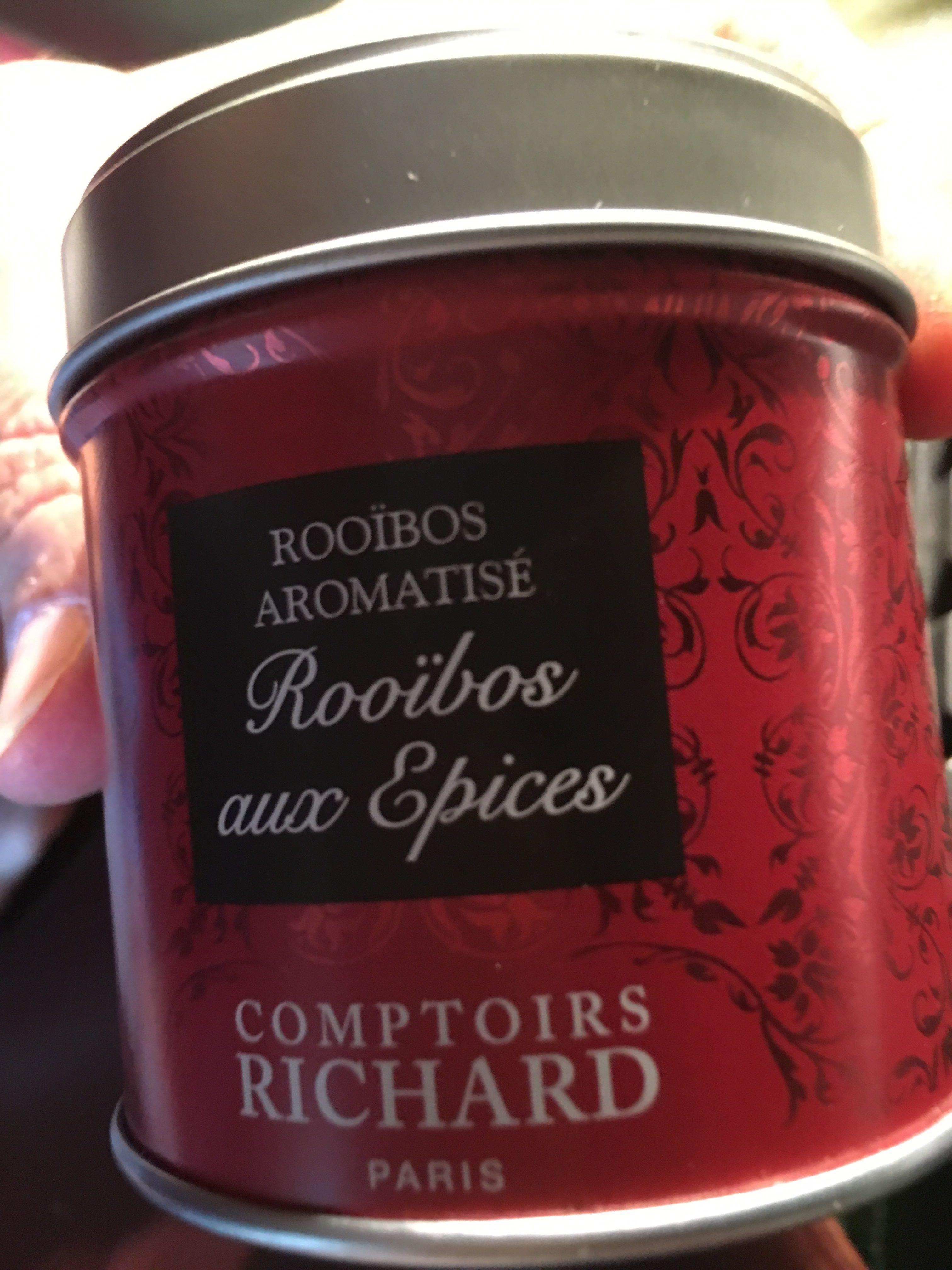 Rooibos Aromatise Comptoirs Richard 35grammes