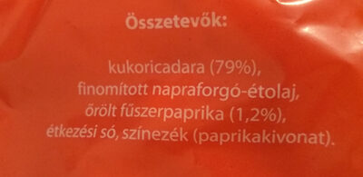 Paprikás Kukorica csemege - Ingrédients
