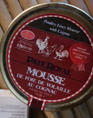 Mousse de foie de volaille au cognac - Product - fr